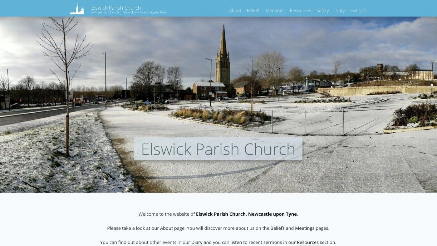 Elswick Parish Church website